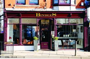 EATERIE WAS A TREAT: The service at Bindles was faultless.