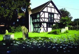 ATTRACTIVE: The parish hall in Cradley is a 15th-century building.