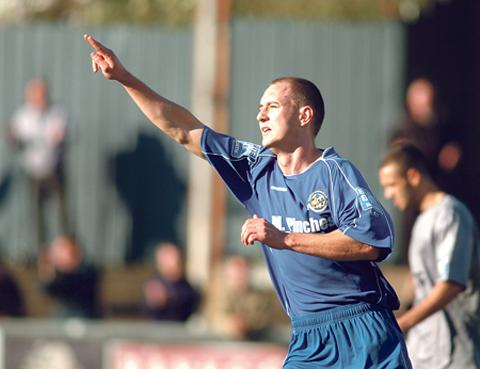 FORGOTTEN MAN: City striker Luke Corbett.