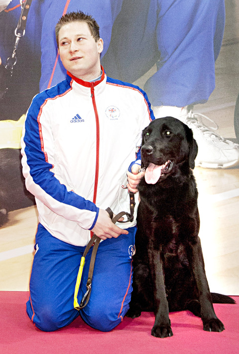 CRUFTS: Lee Greatbatch and Darby.