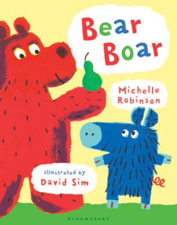 Bear Boar by Michelle Robinson/ illustrated David Sim