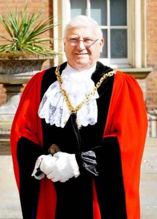 Mike Layland, when he was the Mayor of Worcester in 2008