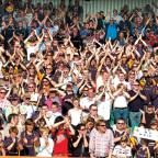 Worcester News: PEOPLE POWER: Warriors can expect their usual amazing support when they take on Northampton Saints at Franklins Gardens on Saturday.