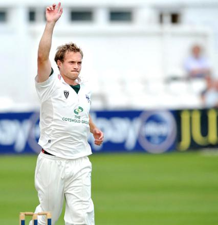 GARETH ANDREW: The all-rounder is eagerly awaiting his return from injury.
