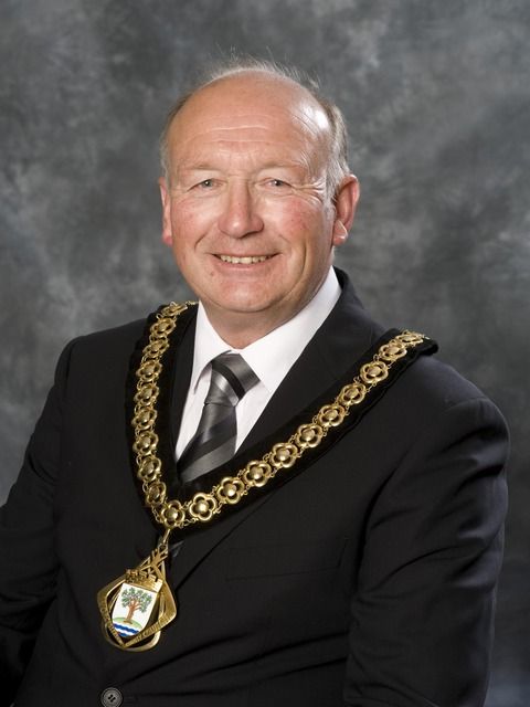 Councillor Rob Adams, former county council chairman