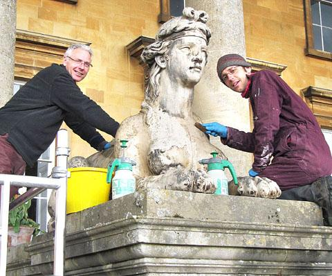 Facelift for ancient sphinxes