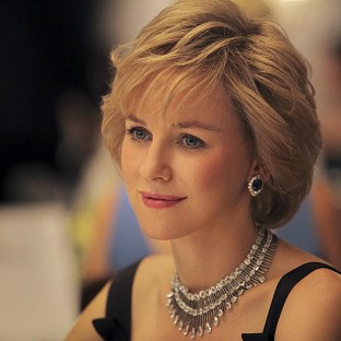 Naomi Watts plays Princess Diana in a new movie