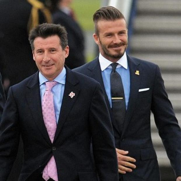 Sebastian Coe revealed David Beckham will have two roles at the Olympics