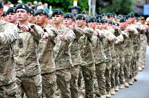 The Queen's Royal Hussars will form part of a 17,000-strong contingent from the Armed Forces