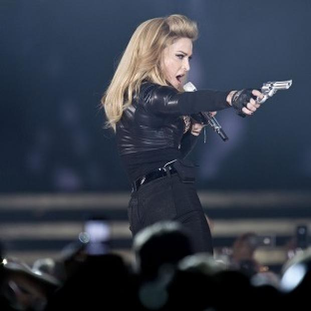 Worcester News: France's National Front has taken issue with a stunt by Madonna on her current tour (AP)