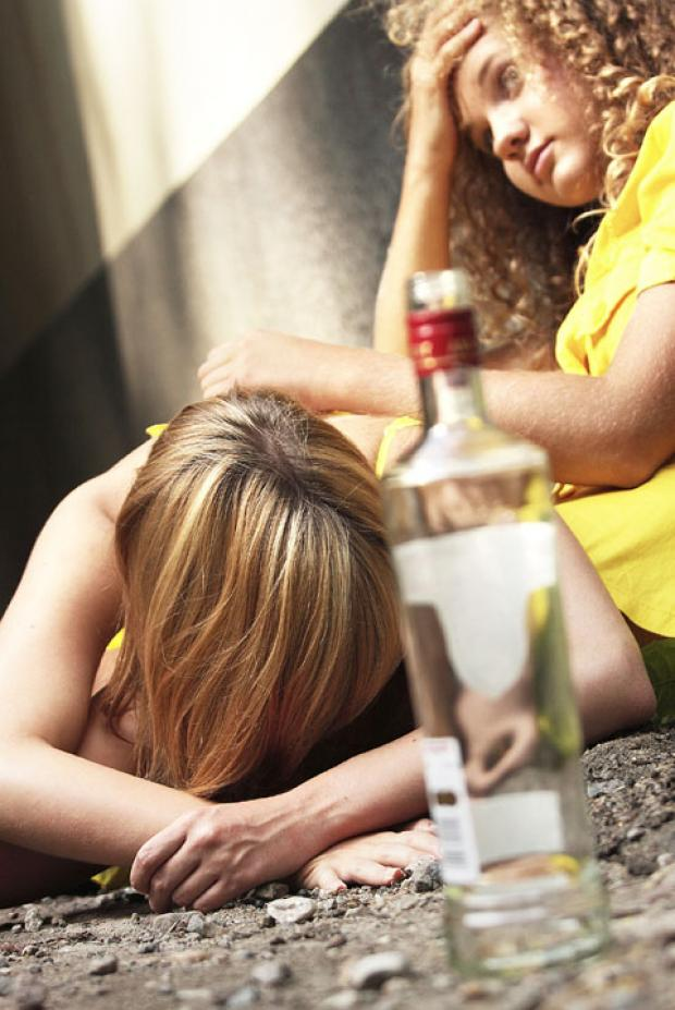 WORRY: 1,500 11-15 year-olds across Worcestershire drink dangerous amounts of alcohol.