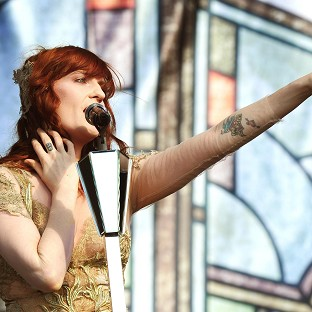 Florence and the Machine are celebrating their first ever number one single