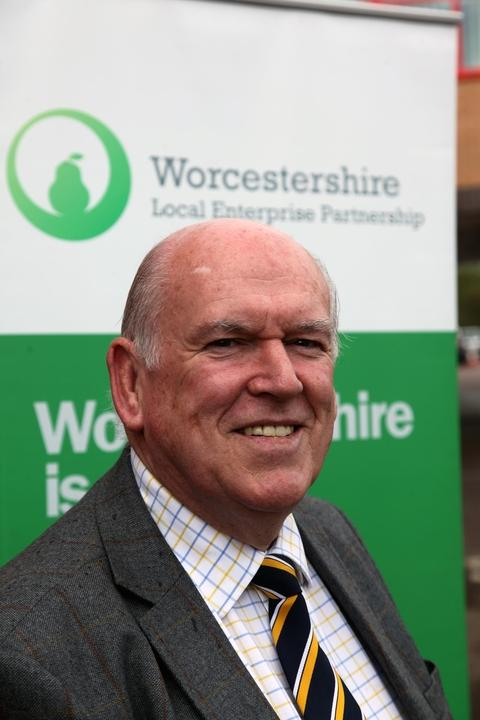Worcester News: Peter Pawsey, from Worcestershire's Local Enterprise Partnership