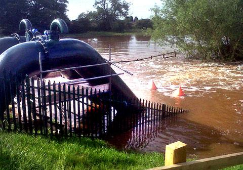 FLOODING: Tnew pumps installed last week that are designed to prevent a repeat of 2007's flooding.