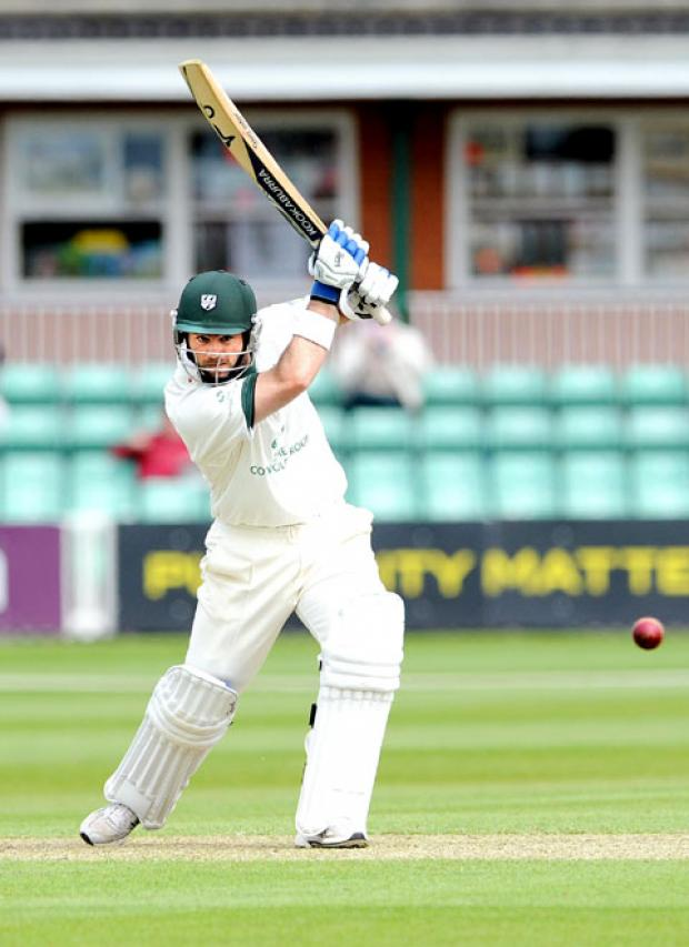 UNBELIEVABLE: Ben Scott's century played a key role in Worcestershire's LV= County Championship Division One victory at Lancashire last week.