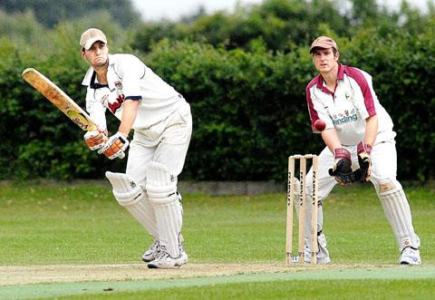 BRACE YOURSELF: Himbleton's Dan Brace smashed 161 against Himley.