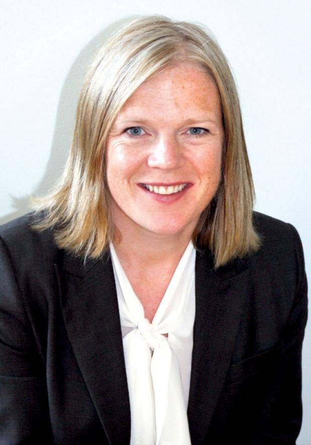 Clare Mitchell, the new assistant chief executive.