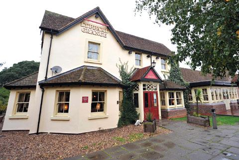 The Lyppard Grange pub in Warndon Villages, Worcester