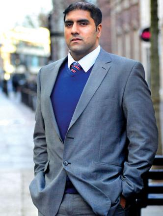 Councillor Jabba Riaz: Labour candidate in Cathedral
