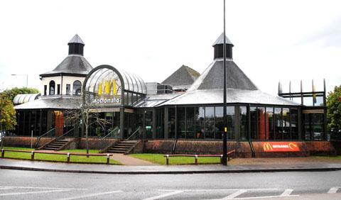 ROBBERY: The McDonald's restaurant in Hylton Road. 33112601