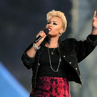 Emeli Sande performs during the Olympics closing ceremony