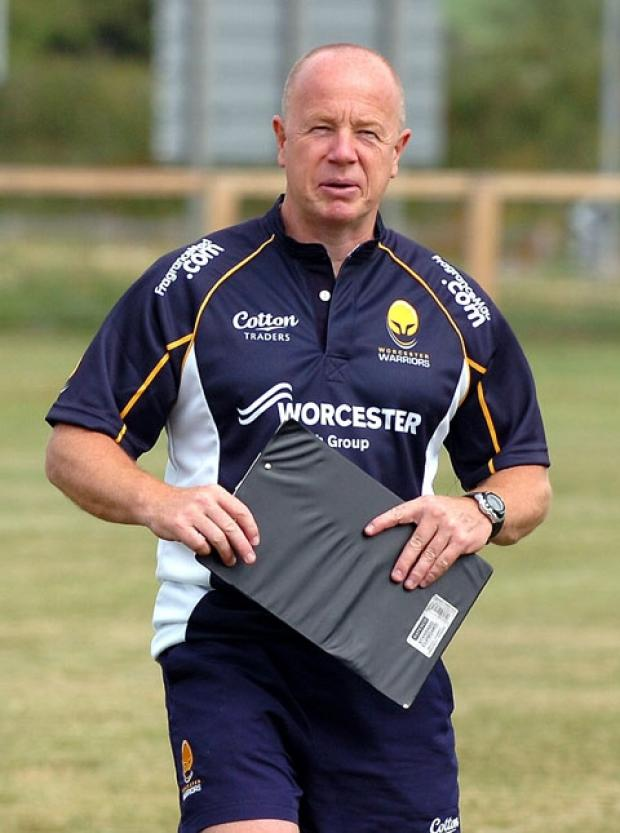 RICHARD HILL: Unhappy with Sixways pitch.