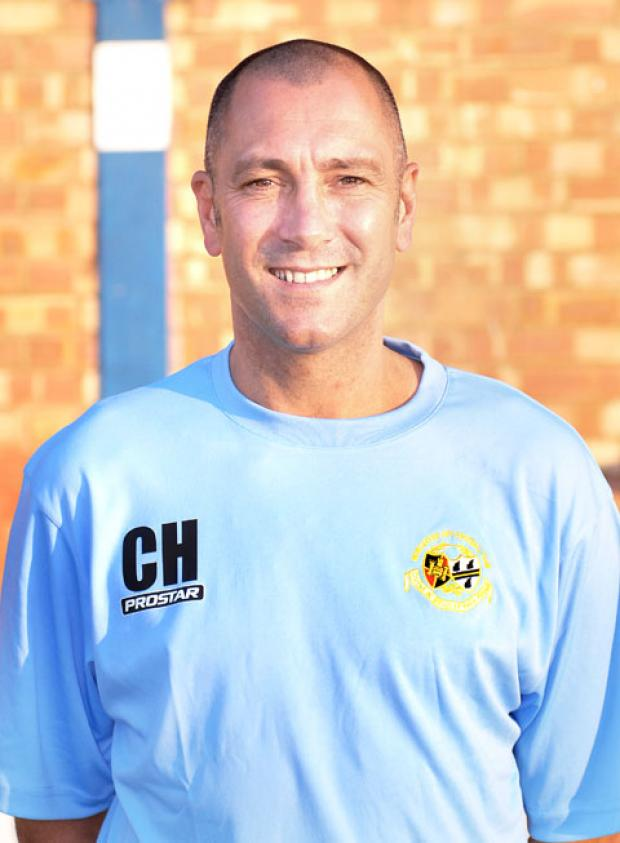 CARL HEELEY: Wants a change to the Worcestershire FA Senior Cup.