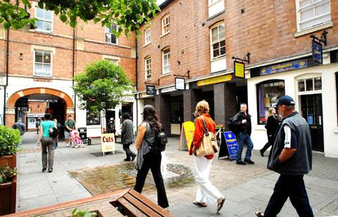 Worcester News: The Hopmarket in Worcester: rents going to outside bodies