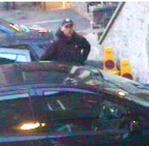 Polic have released this CCTV image of the man they want to question.