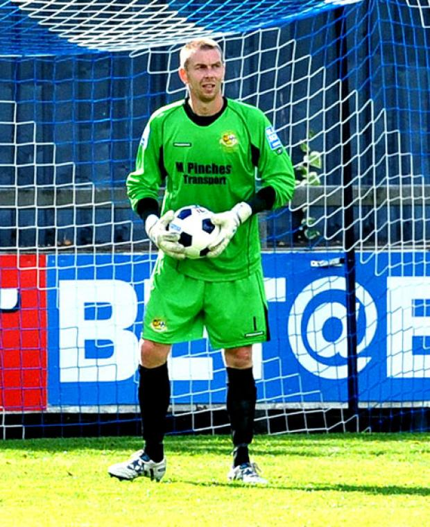 IT'S UP TO US NOW: Worcester City goalkeeper Glyn Thompson says his side need to bounce back from last Saturday's defeat and put a good run of form together.