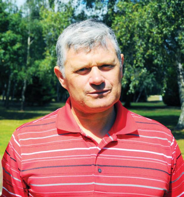 PHIL CAMPBELL: Winner of the September medal at Worcester Golf and Country Club as he shot a gross 73.