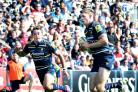 BRAVE IN BATTLE: Worcester Warriors' Nikki Walker was praised for his display against Gloucester after dislocating his thumb in the early stages of the derby.