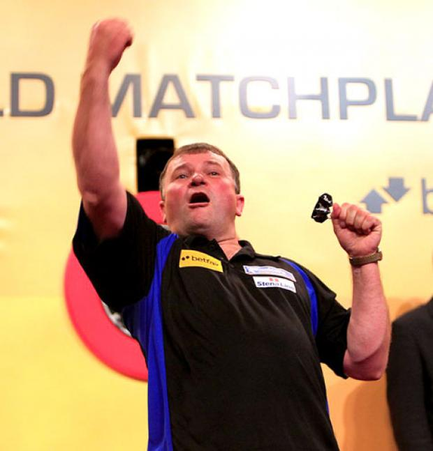 TERRY JENKINS: Semi-final appearance.