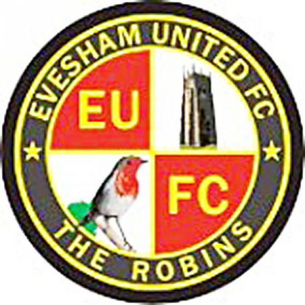 Pitch inspection for Evesham United match