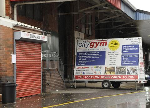 BRAWL: City Gym, Sheriff Street