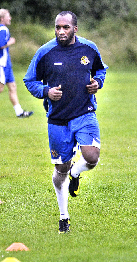 GO-TO MAN: Striker Michael Taylor wants to be the main hitman at Worcester City.