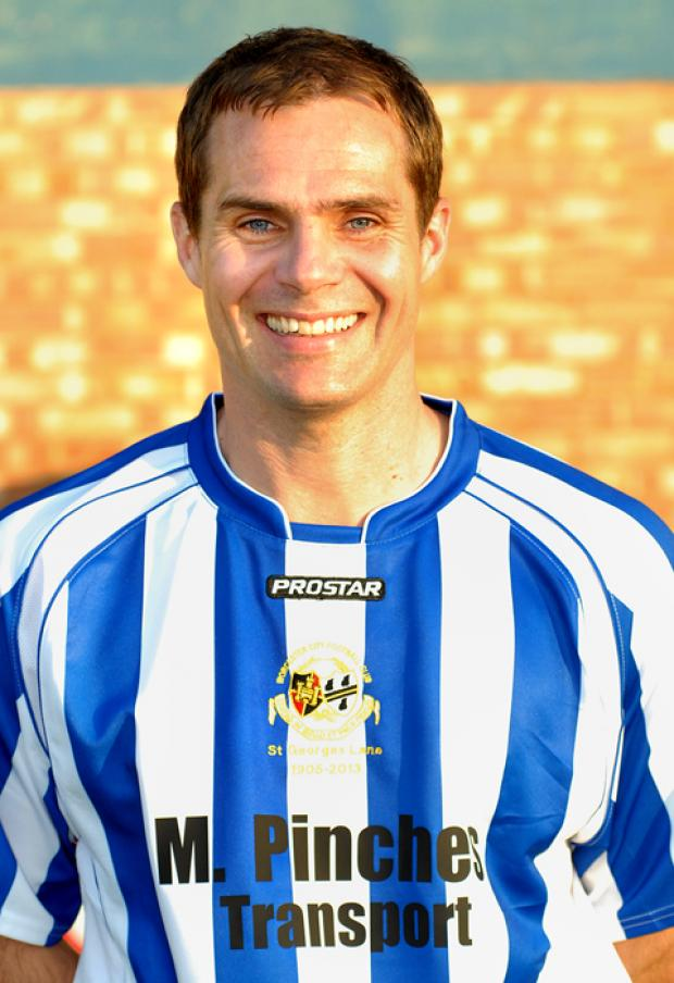 NO LUCK: Worcester City captain Stuart Whitehead.