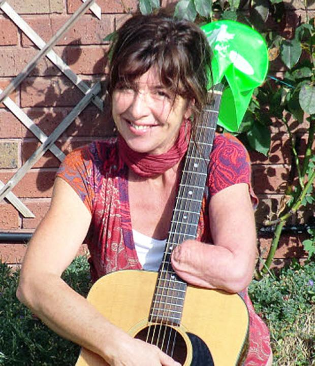 BRAVE: Musician Tina Bridgman is raising cash for charity.