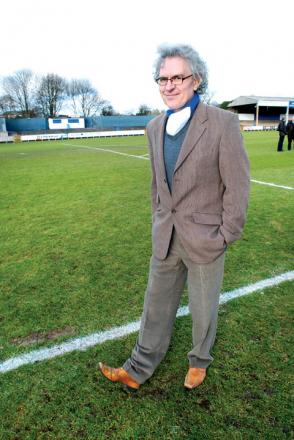 support: Worcester City chairman Anthony Hampson.