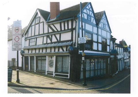 UNDER THE HAMMER: The building will be auctioned.