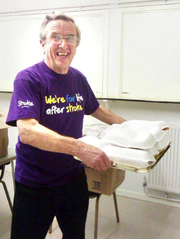 STROKE ASSOCIATION: Charlie Hodges