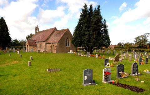GRAVE BAN: St Nicholas Church, Pinvin. Picture: Paul Jackson. 42155002