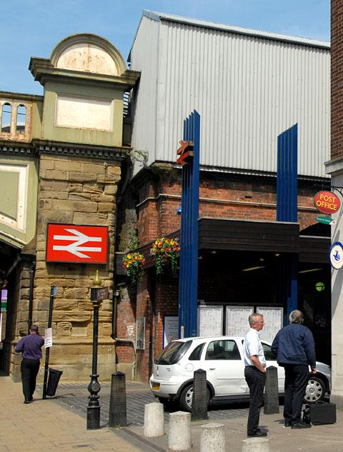REVAMP: The  front of Foregate Street station (20391904)