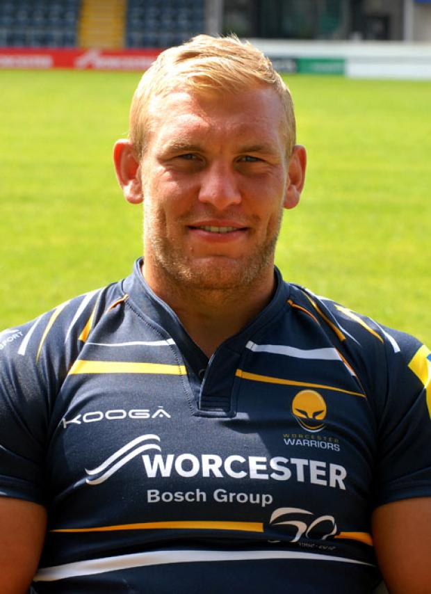 JAMES PERCIVAL: Leads Warriors against Saracens.