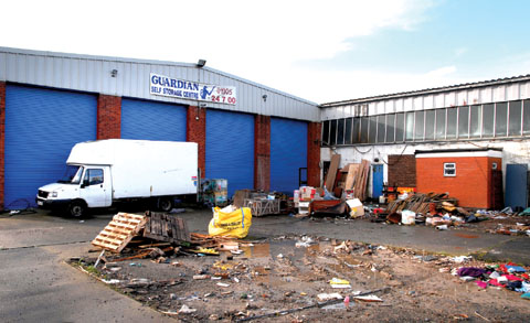 Shambles at Worcester storage centre as gates opened to free-for-all