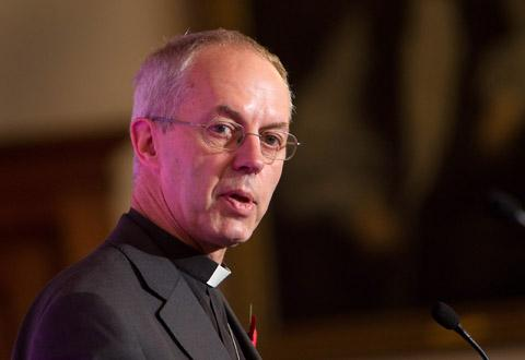 ARCHBISHOP: The Rt. Revd. Justin Welby