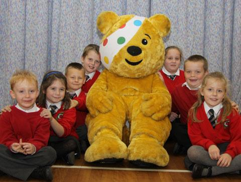 PUDSEY: Children at Dines Green Community