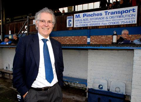 PLEA: City chairman Anthony Hampson.