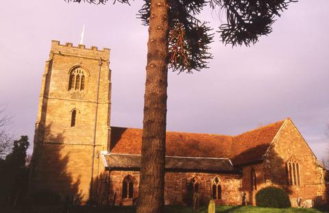 GREAT VIEWS: Powick Church, dedicated to St Peter and St Lawrence.