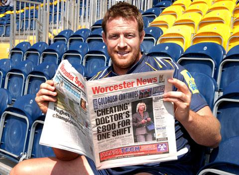 READER: Worcester News columnist Dean Schofield keeps up to date with the news.